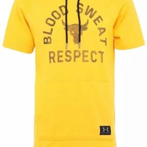 Under Armour project rock respect hoodie large